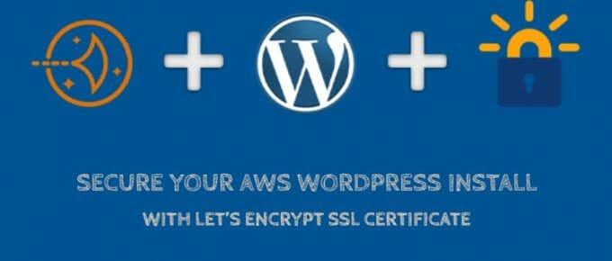 Enable Let's Encrypt SSL Certificate on AWS LightSail WordPress Install