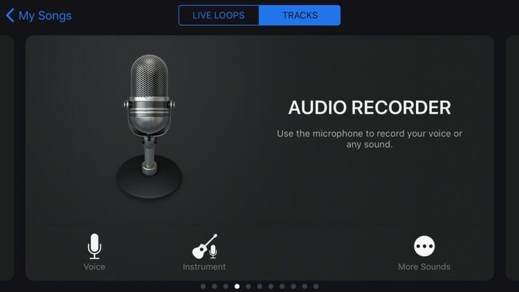GarageBand App to Create Podcast