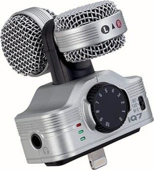 Zoom iQ7 Mid-Slide Stereo Microphone