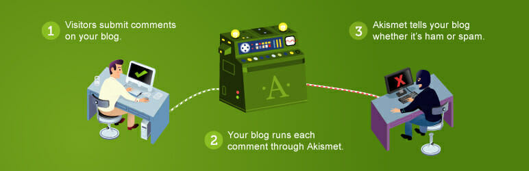 Akismet Anit Spam WordPress Plugin