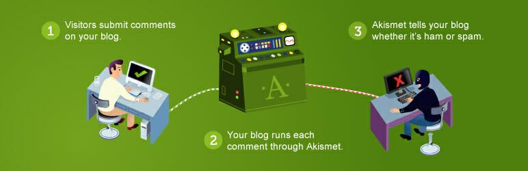 Akismet Anit Spam WordPress Plugin