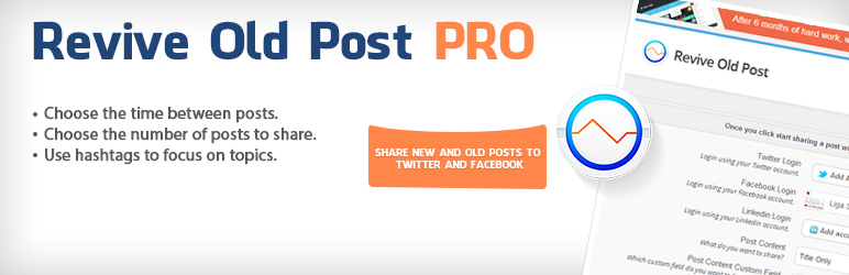 Revive Old Posts WordPress Plugin