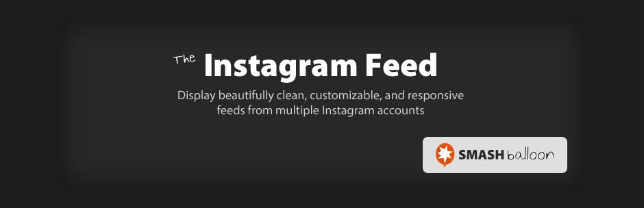 The Instagram Feed WordPress Plugin