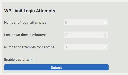 WP Limit Login Attempts
