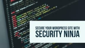 How To Secure WordPress Installation With Security Ninja Plugin