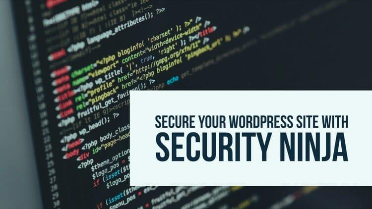 Secure WordPress Blog