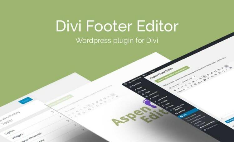 divi footer editor premium plugin