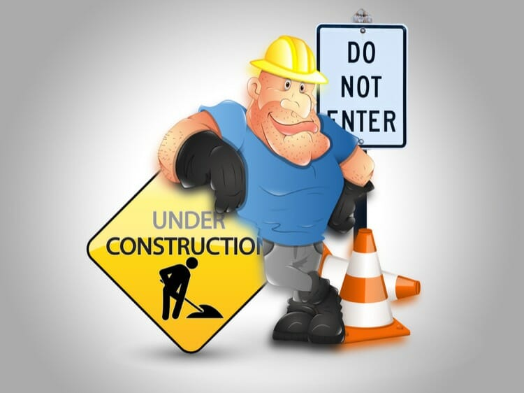 Under Construction WordPress Maintenance Mode