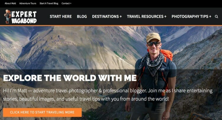 Best Travel Blogs - Expert Vagabond