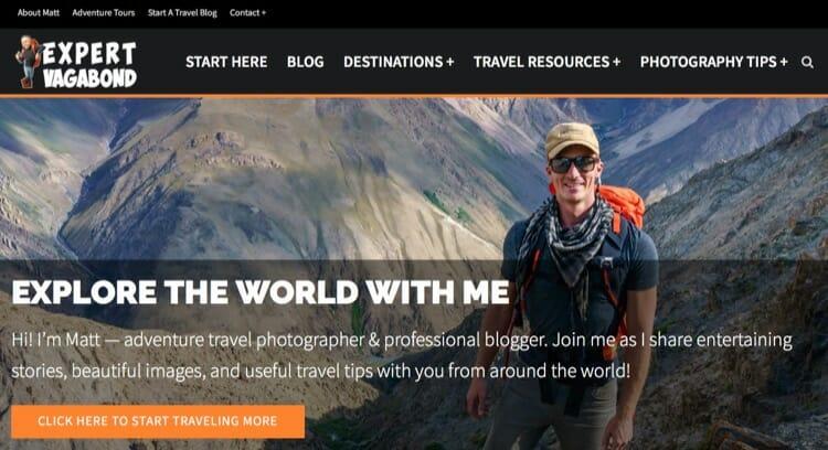 Best Travel Blogs - Expert Vagabond