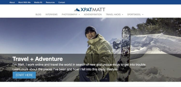 Best Travel Blogs - XPATMATT