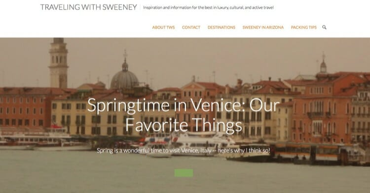 Traveling With Sweeney Travel Blog