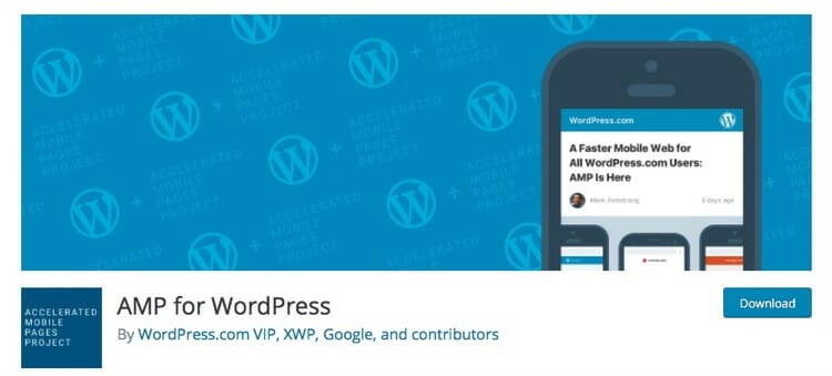 AMP for WordPress Plugin In WordPress Repository