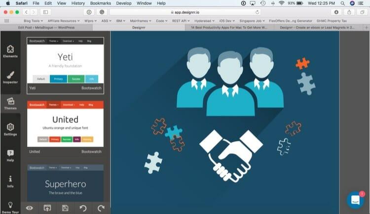 Editing Themes in Designrr Ebook Creator