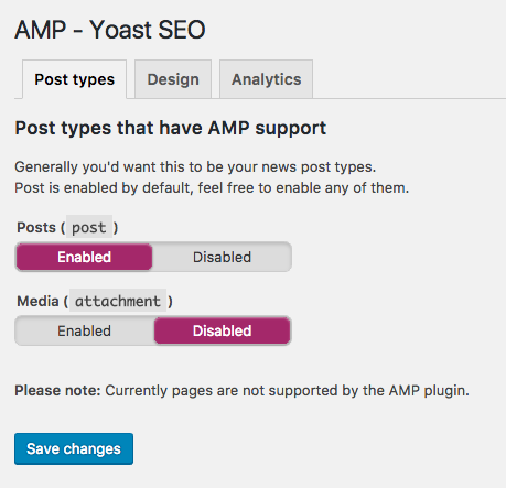 Glue for Yoast SEO & AMP