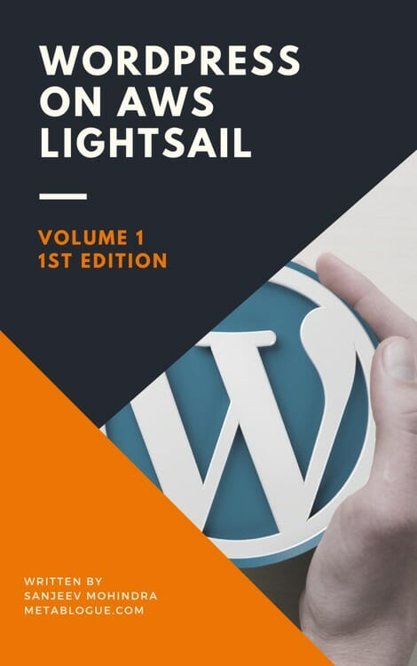 WordPress On AWS Lightsail Ebook
