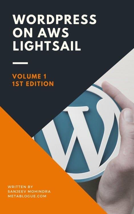 WordPress Server Management On AWS LightSail