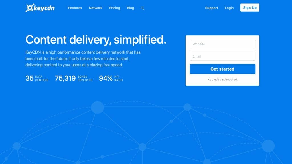 KeyCDN Content Delivery Network Review