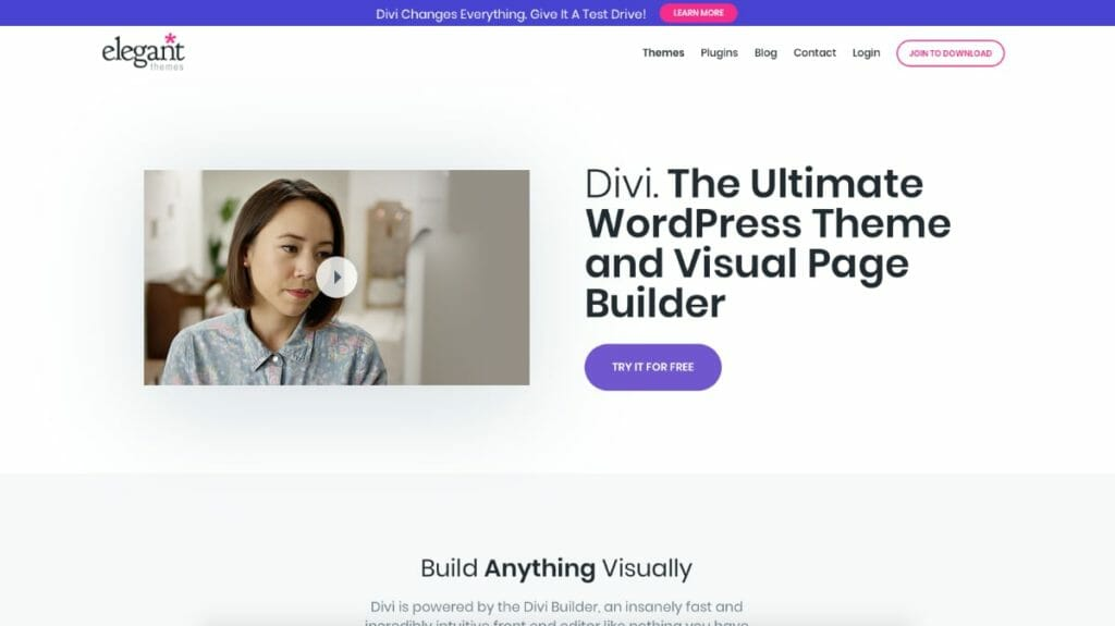 Divi Theme For WordPress By Elegant Themes