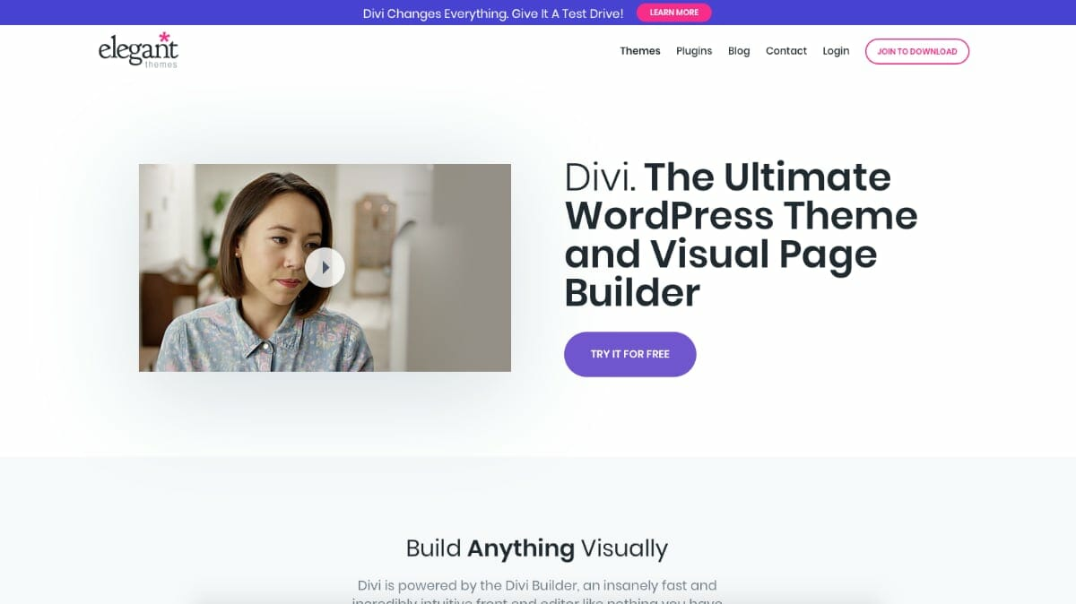 Divi Theme For WordPress By Elegant Themes