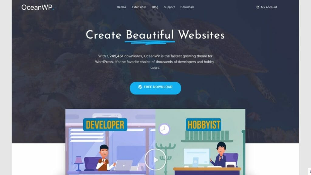 OceanWP Themes For WordPress