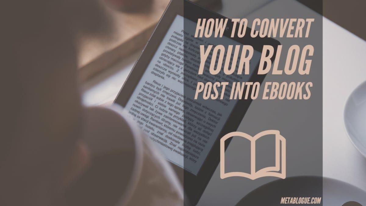 Designrr Ebook Creator - Convert Blog Post Into Ebooks