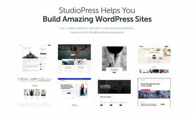 Genesis Framework From StudioPress