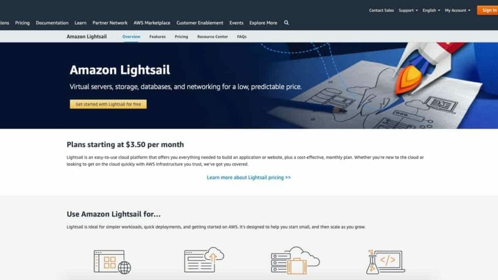 AWS LightSail WordPress Install and Setup