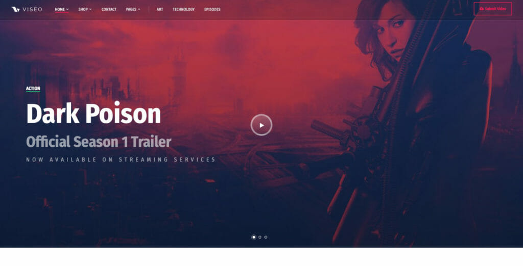 Viseo WordPress Theme For Podcasters