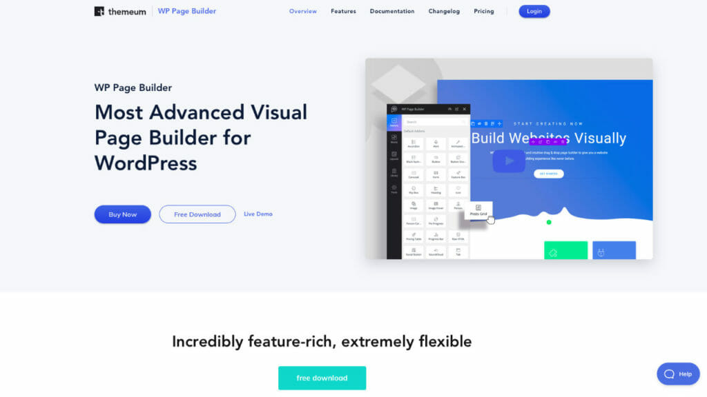 WP Page Builder From Themeum