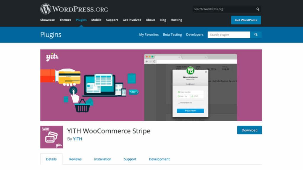 YITH WooCommerce Stripe WordPress Plugin