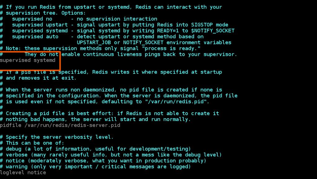 Edit Redis Server Configuration File
