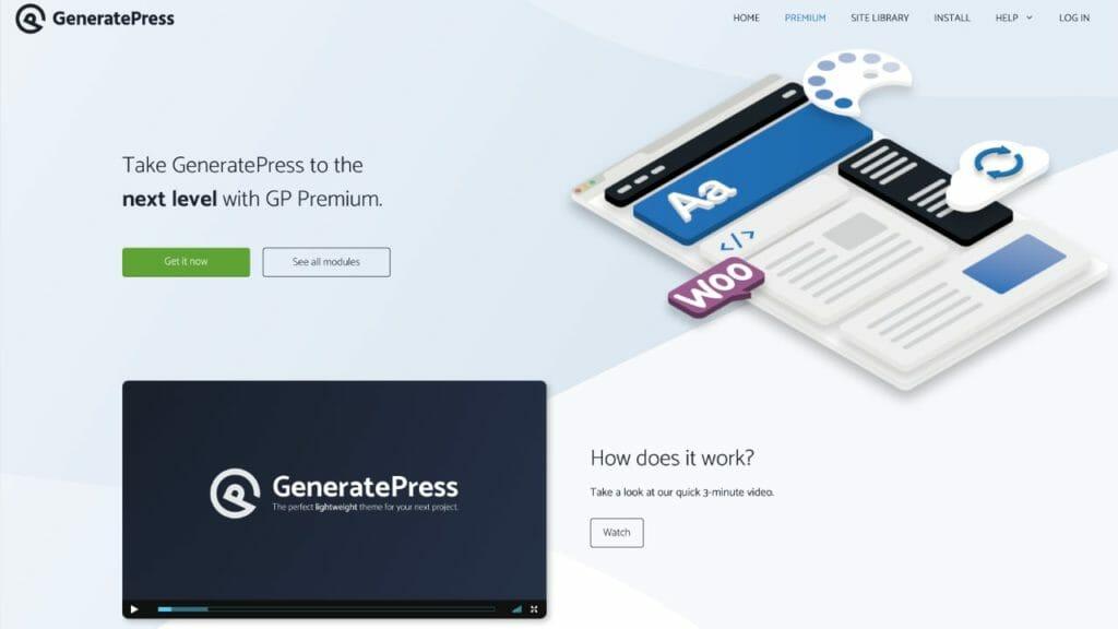 GeneratePress WordPress Theme Premium Version