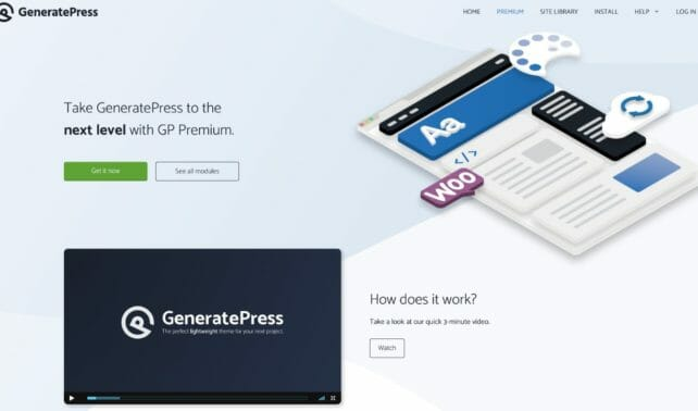 GeneratePress WordPress Theme Premium Version
