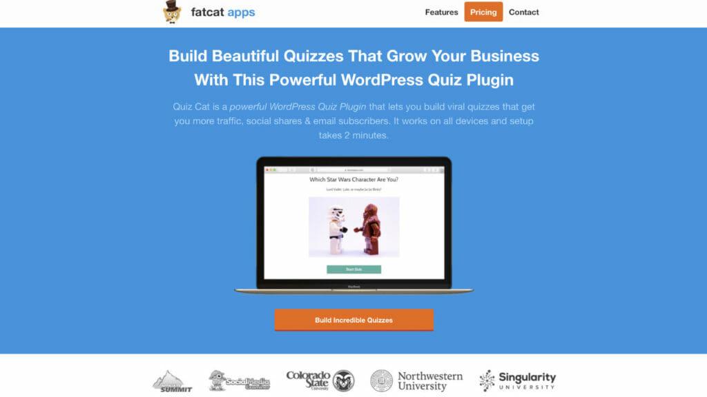 Quiz Cat Survey Platform For WordPress