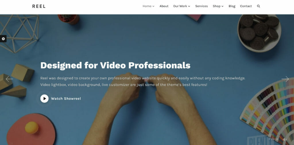 Reel WordPress Theme For Vloggers