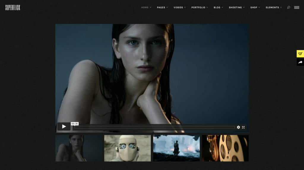 SuperFlick Video Theme For WordPress